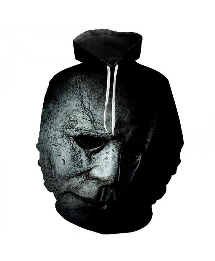 New 2021 Autumn Halloween Horror Michael Myers 3D Print Men Women Children Hoodies Cool Gothic Horror Sweatshirts Pullover Anime