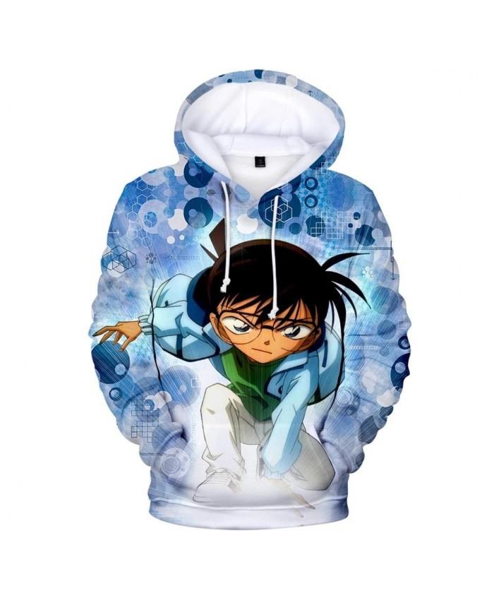 Fashion prined 3D Detective Conan Hoodies Men Women New Animation Boys Girls Sweatshirt pullovers 3D Detective Conan Kids Hoodie