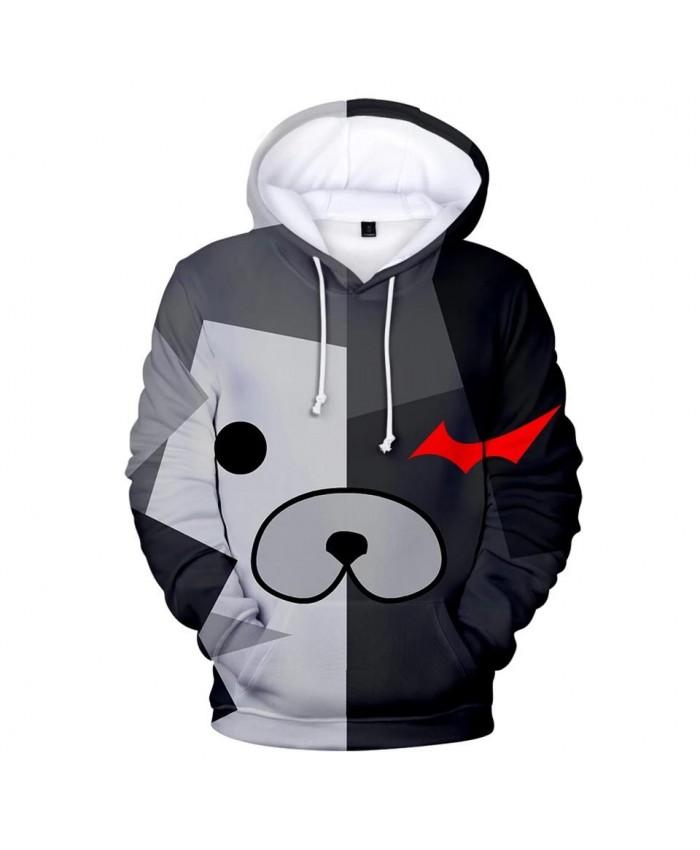 Fashion 3D Monokuma Anime Hoodies Men pullovers Women Hooded Casual 3D Print monokuma Kids 3D Hoodies Hot boys girls Sweatshirts