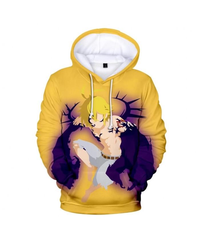 3D The Seven Deadly Sins Comic Hoodies Men Women Sweatshirts Autumn Kids Hoodie 3D The Seven Deadly Sins boys girls pullovers