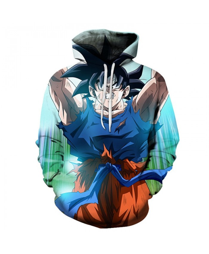 3D Dragon Ball Cover Your Hands Men Pullover Sweatshirt Pullover Hoodie Casual Hoodies Fashion Men Tracksuits Hoodie