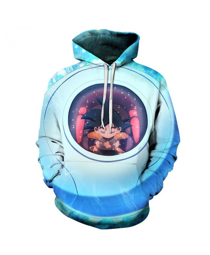 3D Dragon Ball Rest In The Jar Men Pullover Sweatshirt Pullover Hoodie Casual Hoodies Fashion Anime 2021 Men Hoodie