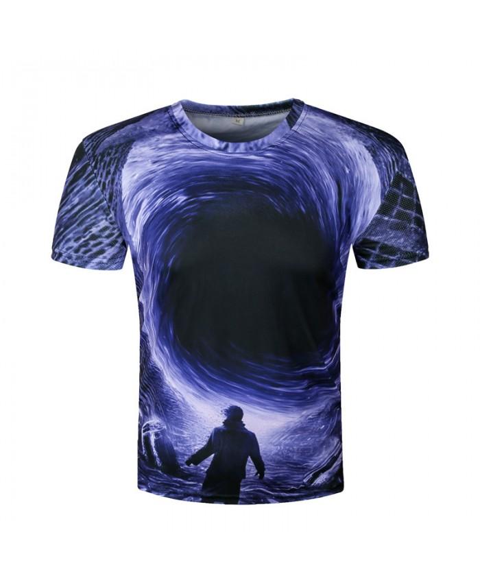 3D Funny T-shirts Men Water T shirts Summer Hip Hop Camisetas Harajuku Tops Funny Cool Tees Short Sleeve Round Neck