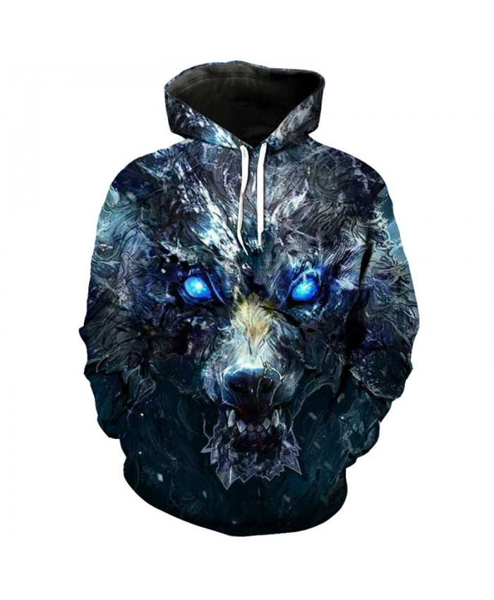 3D Hoodie Game of thrones magic wolf print cool Sweatshirt pullover Men Women Casual Pullover Sportswear