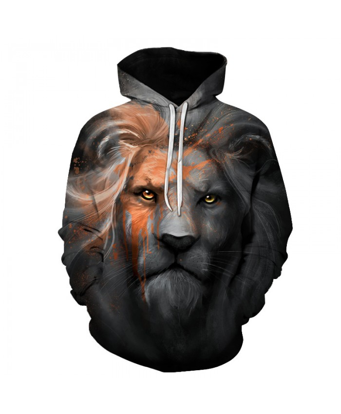 3D Hoodies Lion King Pritned Hoodie Unisex Hooded Sweatshirts Casual Pullover Fashion Tracksuits Novelty Hooded Jacket New