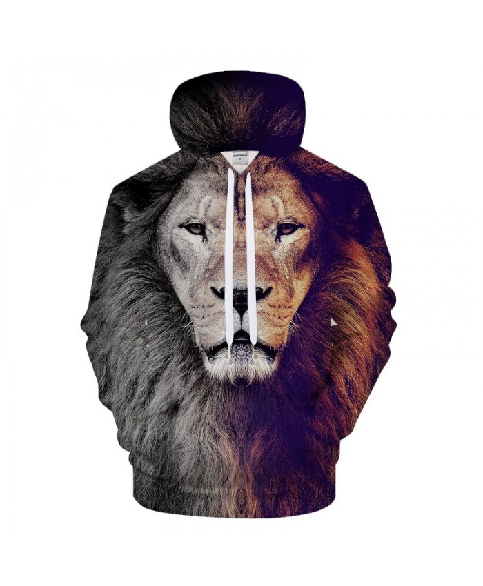 3D Lion Hoodies Sweatshirts Men Hoodie Unisex Tracksuits Fashion Pullover Autumn Winter Novelty Streetwear Brand Clothes Male