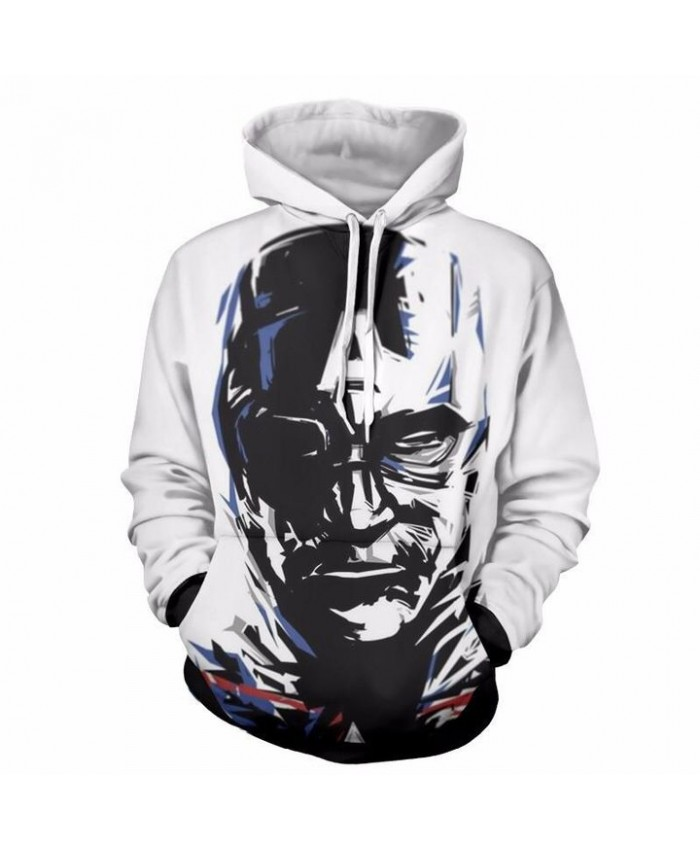3D Print Captain America Unisex Pullover Hoodie Funny Fashion 3D Hoodie Sweatshirt