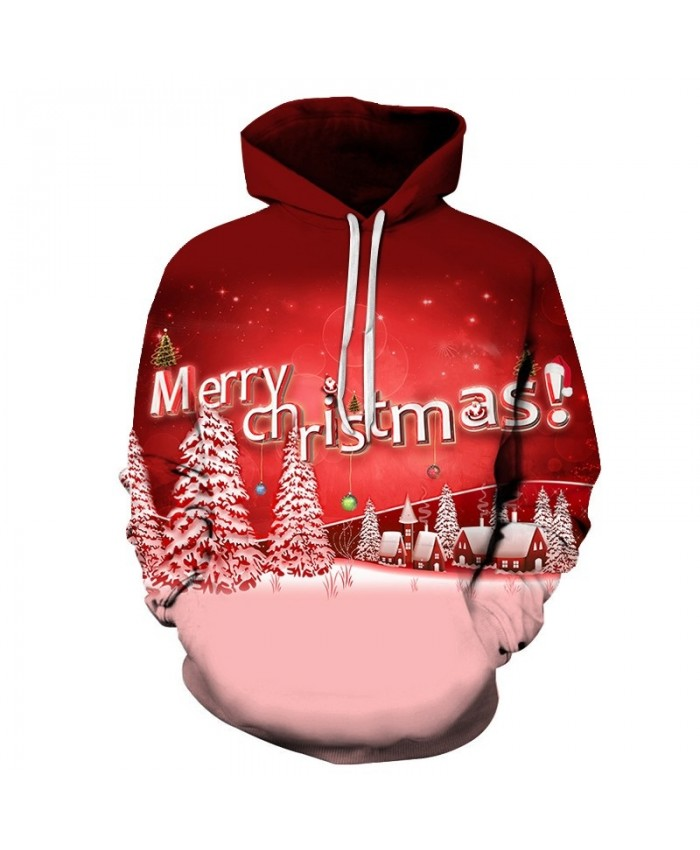 3D Print Casual Fashion Hoodies Christmas Sweatshirts Sport Hoodies Men 2019 Celebrate Christmas Drop Shopping
