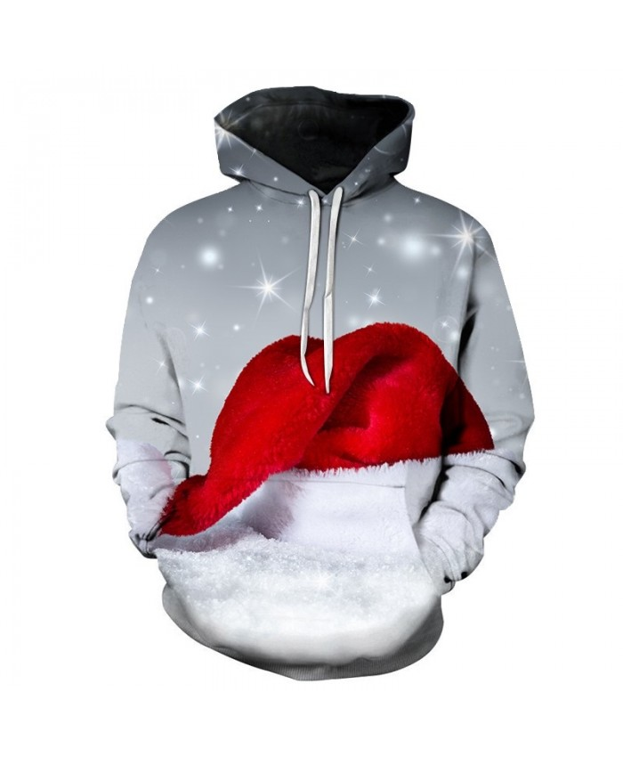 3D Print Casual Fashion Hoodies Christmas Sweatshirts Sport Hoodies Men 2019 Red Riding Hood Drop Shopping