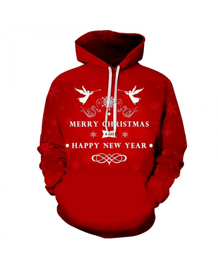 3D Print Casual Fashion Hoodies Christmas Sweatshirts Sport Hoodies Men Dropshopping Merry Christmas