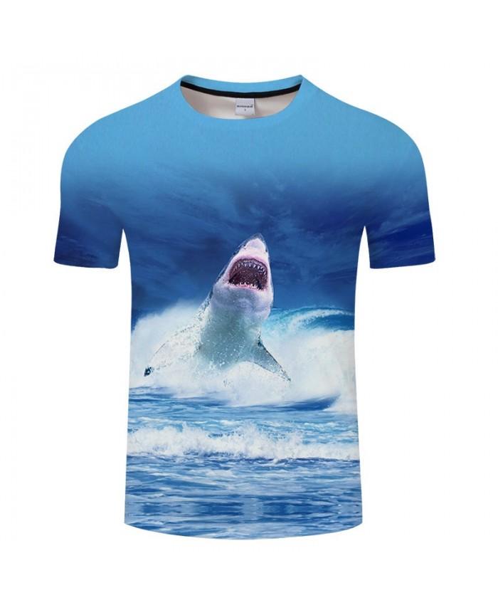 3D Print Dolphin Leap tshirt Men tshirt Summer Casual Slim 2019 Hot Sell Short Sleeve O-neck Tops&Tee Drop Ship