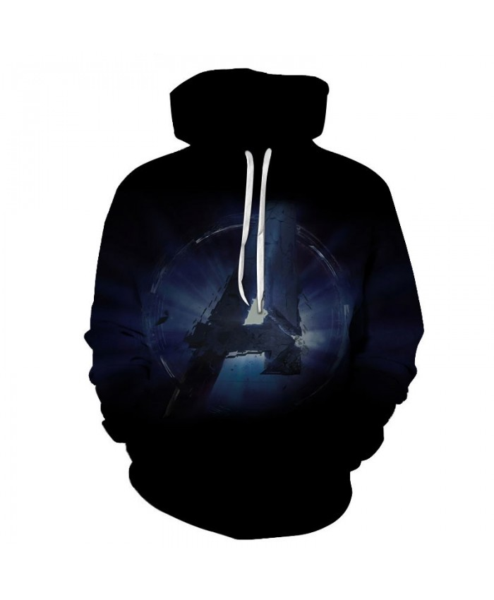 3D Print Hoodie Mens Pullover Long Sleeve Sweatshirt Men Avengers Endgame Casual Sweatshirt Fashion Men 2019 Hoodies