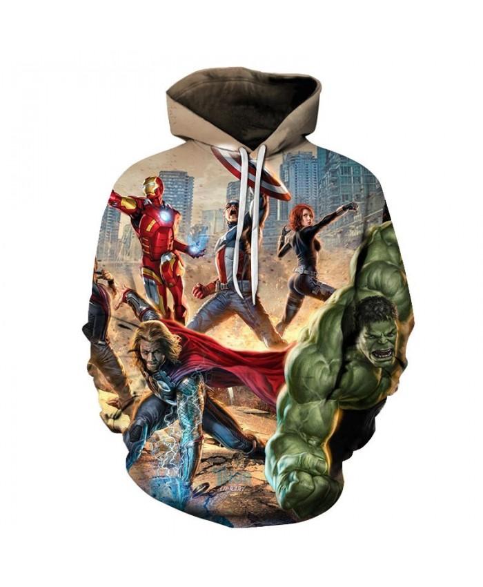 3D Print Hoodie Mens Pullover Sweatshirt Marvel Men's Hoodie Casual Sweatshirt Avengers Endgame Fashion Men Hoodies