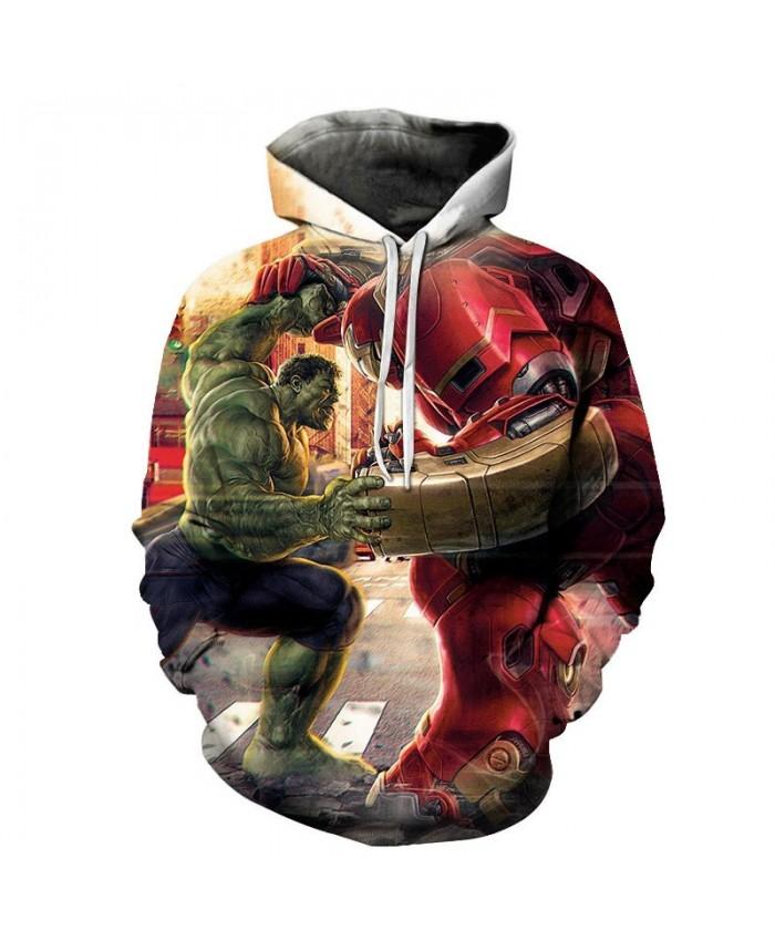 3D Print Hoodie Mens Pullover Sweatshirt The Avengers Final Men's Hoodie Casual Sweatshirt Fashion Men Hoodies Marvel