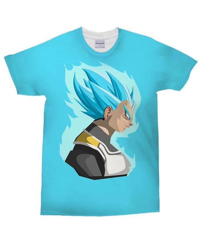 3D Print Men's T Shirt Blaze Blue Dragon Ball Crossfit Shirt Casual Fashion Men Short Sleeve T-Shirt Tops&Tee