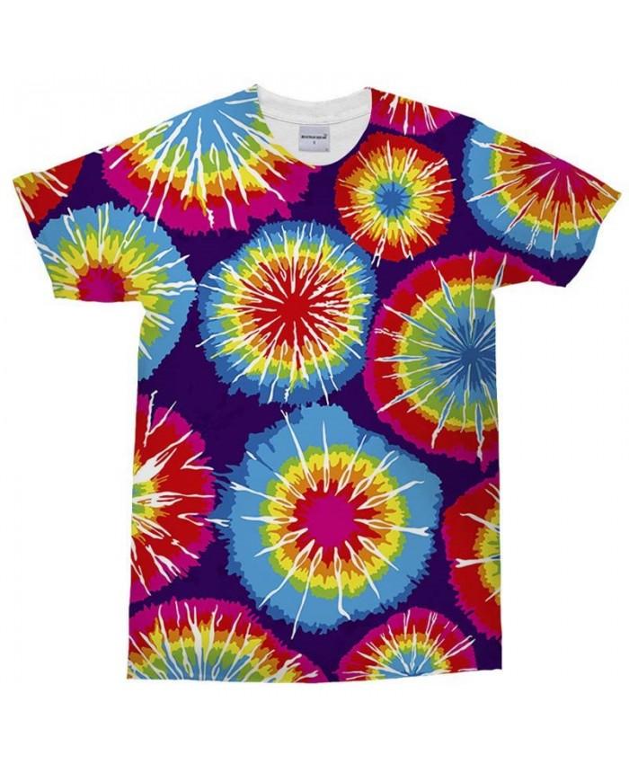 3D Print Men's T Shirt Ink Bright Flower Crossfit Shirt Casual Men Short Sleeve T Shirt Top Sell o Neck