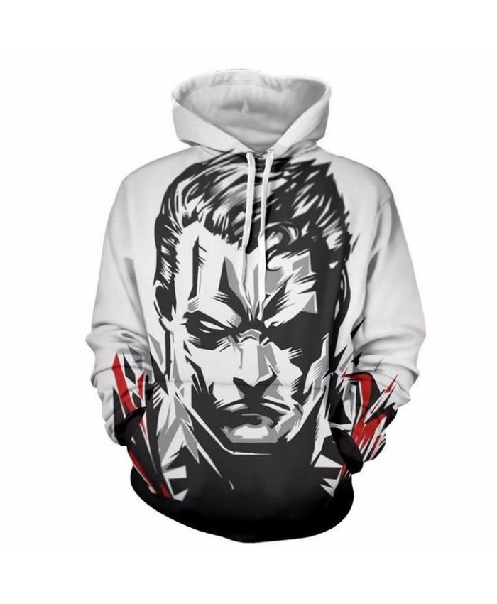 3D Print Superman Unisex Pullover Hoodie Funny Fashion 3D Hoodie Sweatshirt