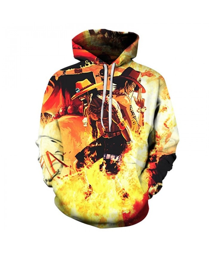 3D Print Surrounded by fire One Piece Men Hoodies Mens Pullover Sweatshirt Fashion Men Hoodies Pullover Casual Men