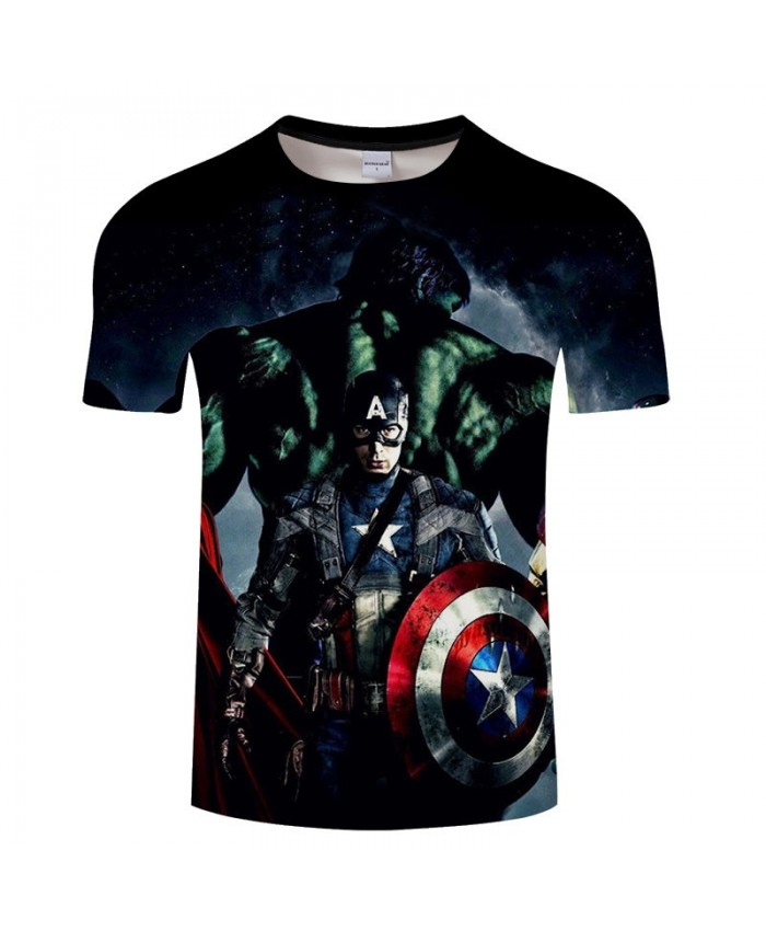 3D Print T Shirt Men Avengers Endgame tshirt Slim Casual Short Sleeve O-neck Crossfit Shirt Tops&Tees Drop Ship Men