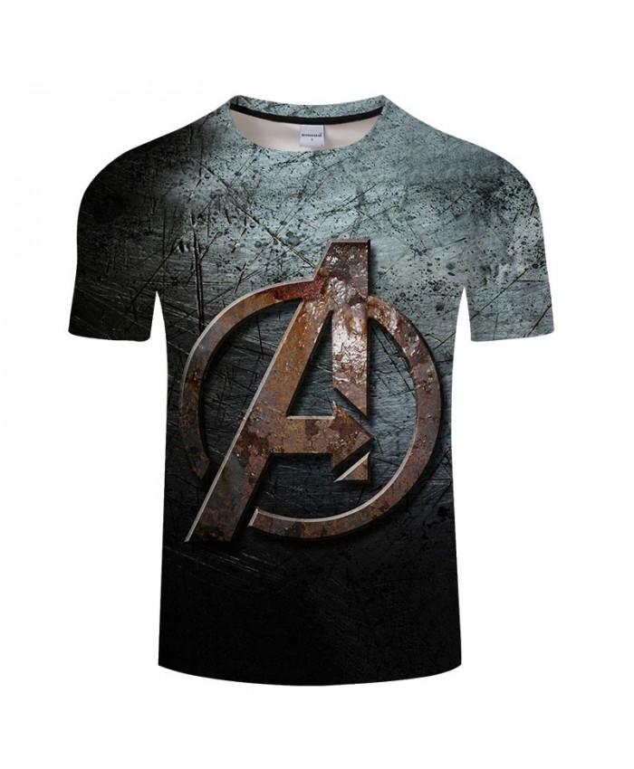 3D Print T Shirt Men Brand Fitness Shirt Fashion Casual The Avengers Short Sleeve O-neck Crossfit Shirt Tops&Tees Men