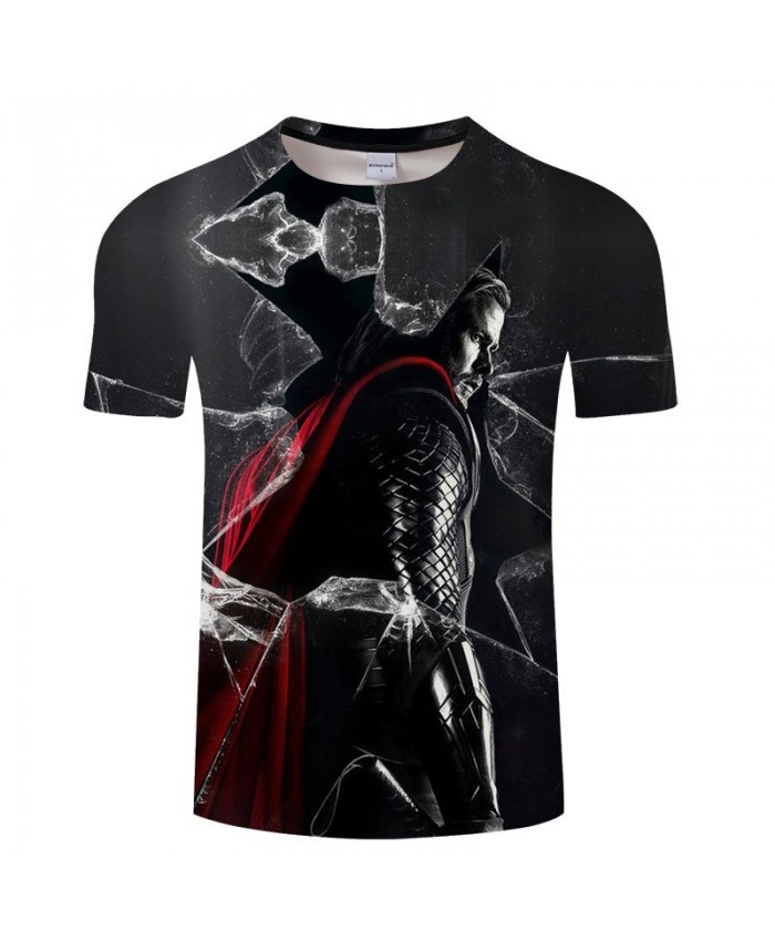 3D Print T Shirt Men Brand tshirt Summer Casual Short Sleeve O-neck Crossfit Shirt Tops&Tees Drop Ship The Avengers 4