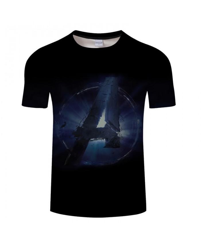 3D Print T Shirt Men Fitness Shirt Casual Short Sleeve Avengers Endgame T Shirt Crossfit Shirt Tops&Tees O-neck Men
