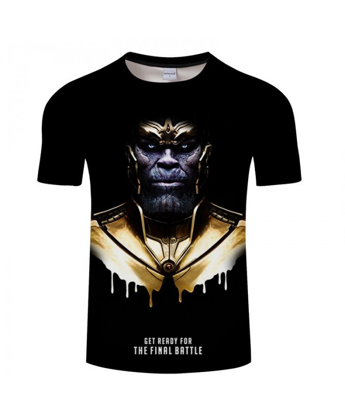 3D Print T Shirt Men Fitness Shirt Casual Short Sleeve Round Neck Crossfit Shirt Tops&Tees The Avengers Men Fitness