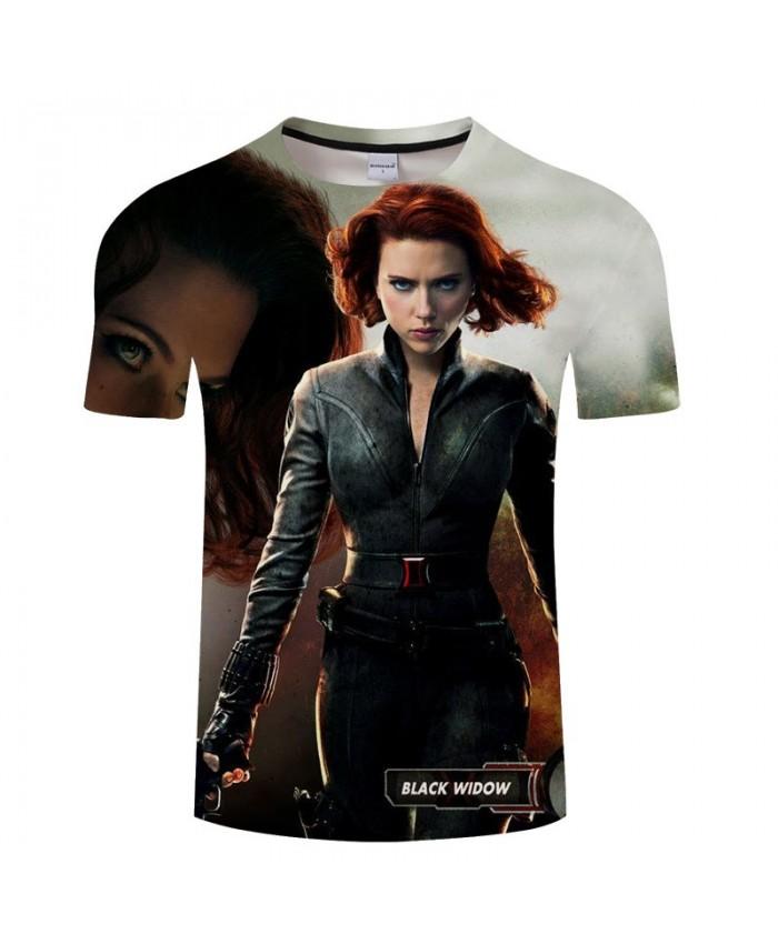 3D Print T Shirt Men Fitness Shirt Casual Short Sleeve T Shirt Crossfit Shirt The Avengers 4 Tops&Tees O-neck Men