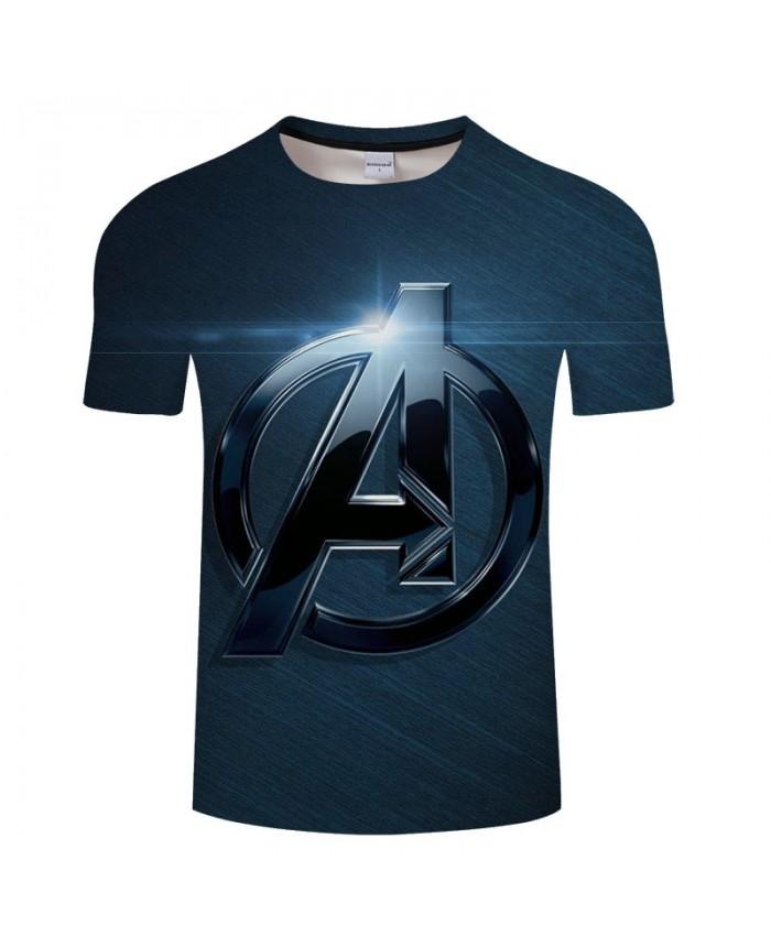 3D Print T Shirt Men Fitness Shirt Fashion Casual Avengers Endgame Short Sleeve O-neck Crossfit Shirt Tops&Tees Men