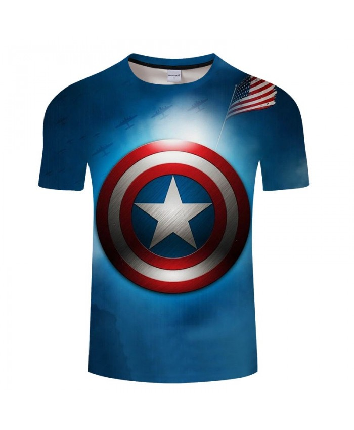 3D Print T Shirt Men Fitness Shirt Fashion Casual The Avengers 4 Short Sleeve O-neck Crossfit Shirt Tops&Tees Men