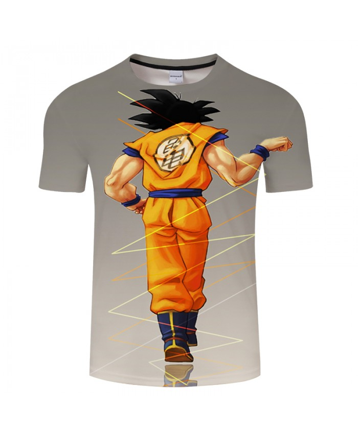 3D Print T shirt Men Women Dragon Ball Summer Anime Short Sleeve O-neck Streetwear Tops&Tees Tshirts Drop Ship