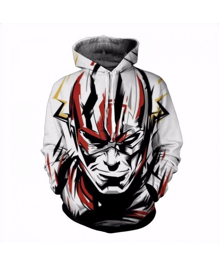 3D Print The Flash Unisex Pullover Hoodie Funny Fashion 3D Hoodie Sweatshirt
