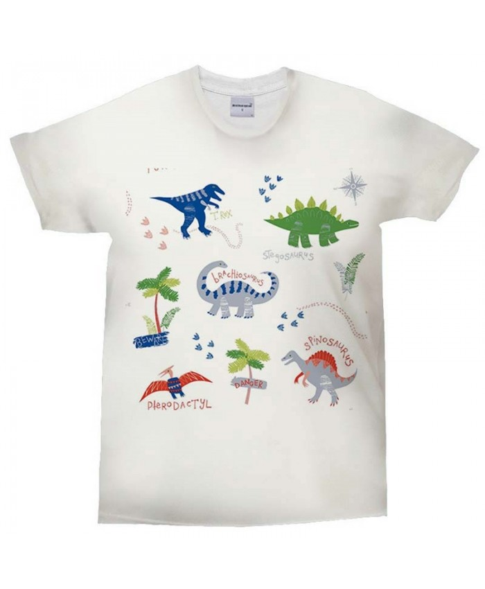 3D Print t shirt Colorful Dinosaur Man's T-shirt CasualCrossfit Shirt Fashion Men Tops&Tee O-neck