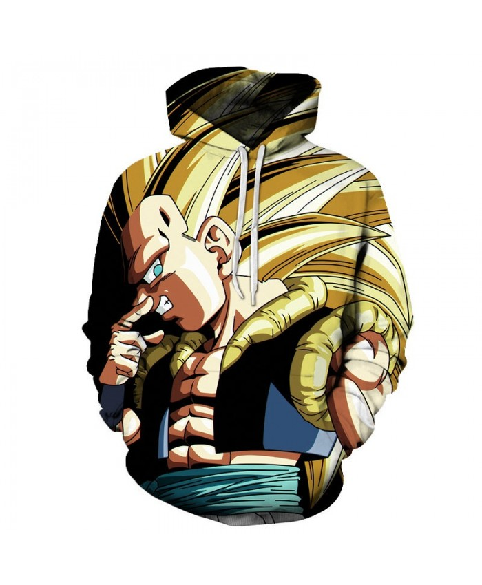 3D Printed Cover Your Nose Dragon Ball Men Pullover Sweatshirt Pullover Hoodie Casual Hoodies Fashion Men Hoodie