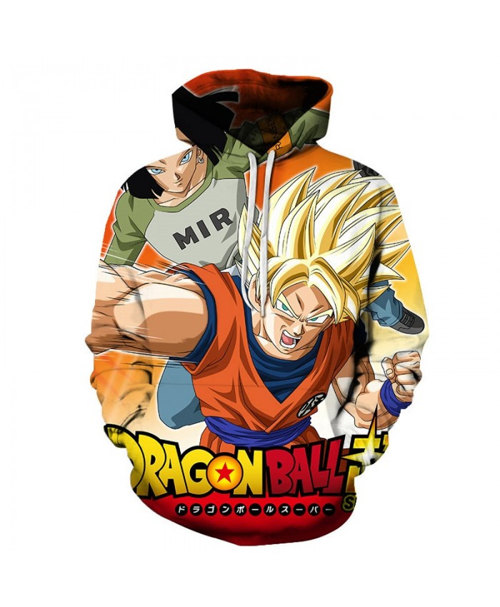 3D Printed Cyclone Attack Dragon Ball Men Pullover Sweatshirt Pullover Hoodie Casual Hoodies Fashion 2019 Men Hoodie