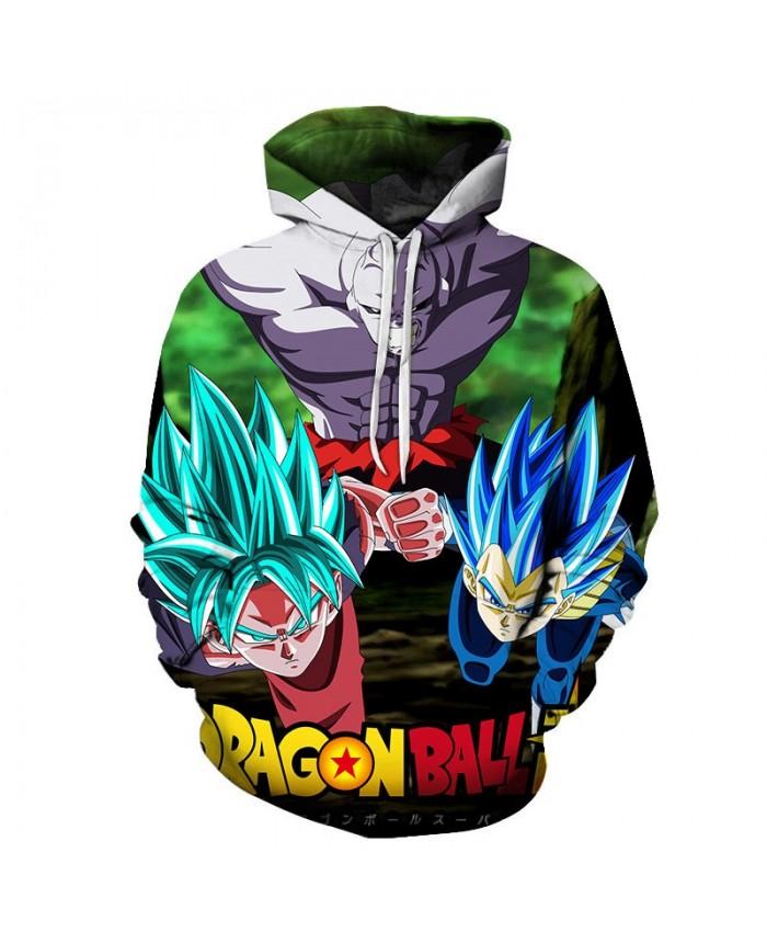 3D Printed Enemy Sneak Attack Dragon Ball Men Pullover Sweatshirt Pullover Hoodie Casual Hoodies Fashion Men Hoodie