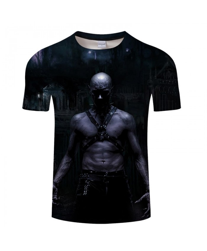3D Printed Shirtless Steel Man Men tshirt Crossfit Shirt Casual Summer Short Sleeve Male tshirt Men Round Neck Top