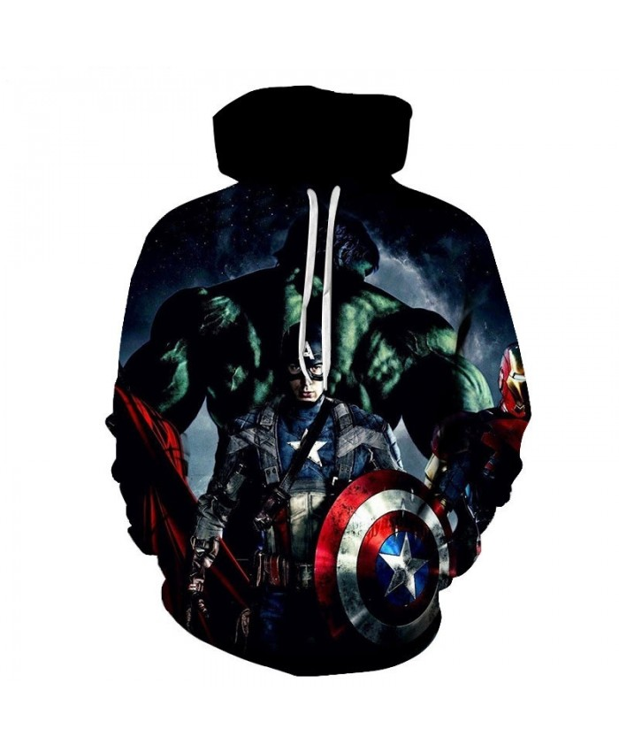 3D Printed Sup Hoodie Men Pullover Sweatshirt Long Sleeve Capitana Marvel Casual Hoodies Men's sweatshirt Hoodies Men