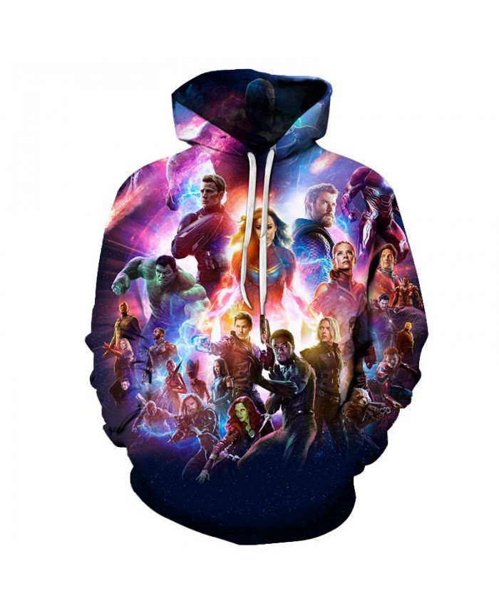 3D Printed The Avengers Expression Men Pullover Sweatshirt Clothing for Men Custom Pullover Hoodie Casual Hoodies