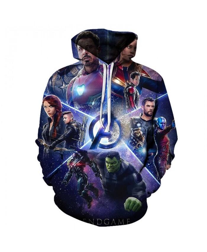 3D Printed The Avengers Fighting Men Pullover Sweatshirt Clothing for Men Custom Pullover Hoodie Casual Hoodies