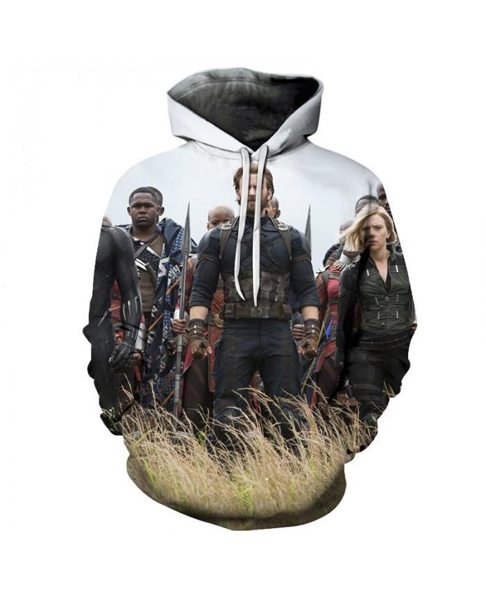 3D Printed The Avengers On Foot Men Pullover Sweatshirt Clothing for Men Custom Pullover Hoodie Casual Hoodies Men