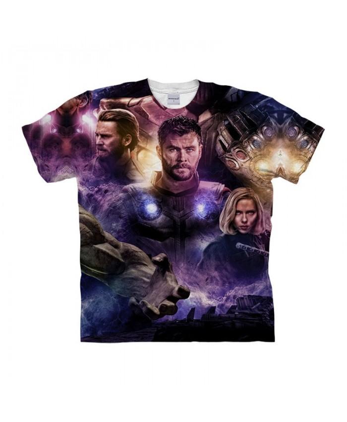 3D Printed The Avengers Purple Light Men tshirt Crossfit Shirt Casual Summer Short Sleeve Men T Shirts Fashion