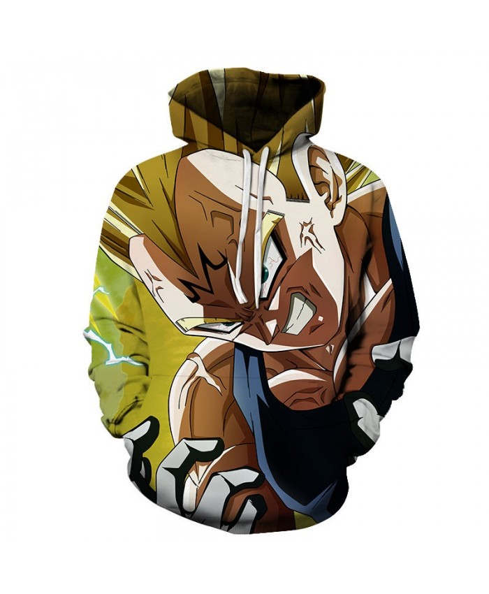 3D Printed Tooth Decay Dragon Ball Men Pullover Sweatshirt Pullover Hoodie Casual Hoodies Fashion Anime Men Hoodie