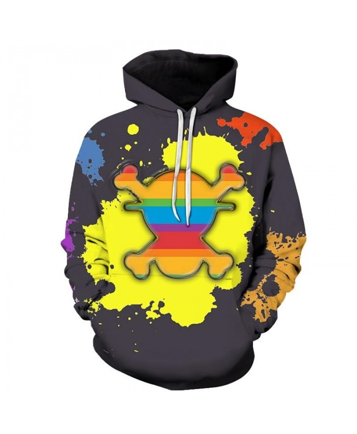 3D Printed Watercolor Painting One Piece Men Hoodies Mens Pullover Sweatshirt Fashion Men Hoodies Pullover Casual