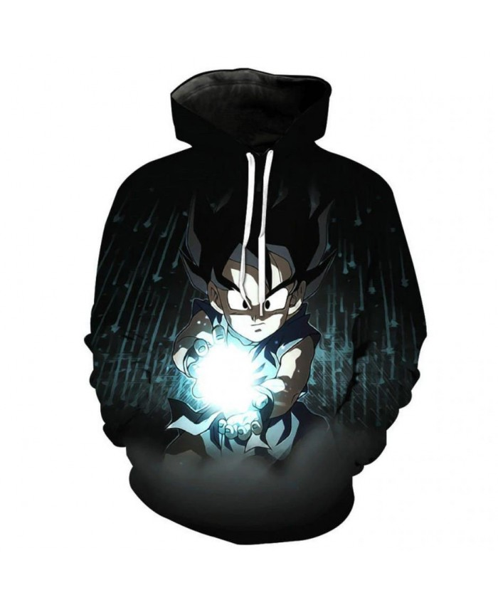 3D Printing Dragon Ball Z Hoodies Men/Women Sweatshirts Hoody Cartoon Cosplay Super Saiyan Goku Boy/Girls Cool Polluver A