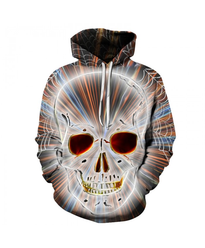 3D Skull Hoodies Men Sweatshirts Women Funny Unisex Pullover Hooded Tracksuits Fashion Boy Jackets Brand Hoodies New