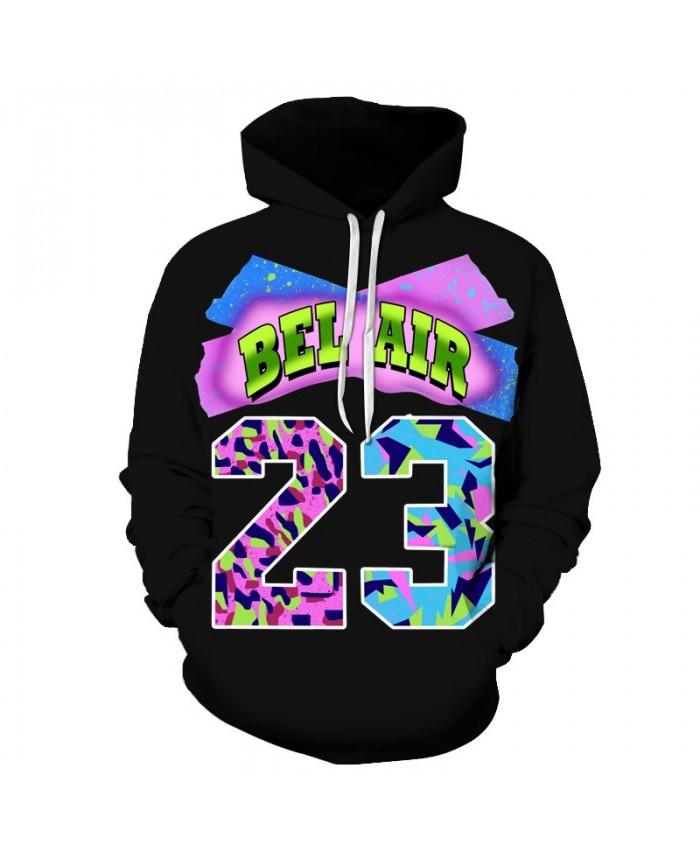 3D Sweatshirts Unisex 23 BEL Hoodies With 3D Print Unique Autumn Winter Loose Thin Hooded Hoody Tops&Tees