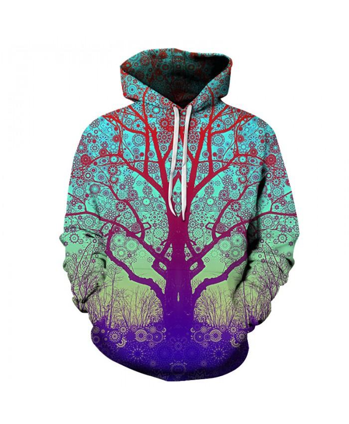 3D Tree Printed Hoodie-Sweatshirts Hot Men Women Fashion Hooded Jackets 6XL Tracksuits Novelty Coats Brand Outwear Boy