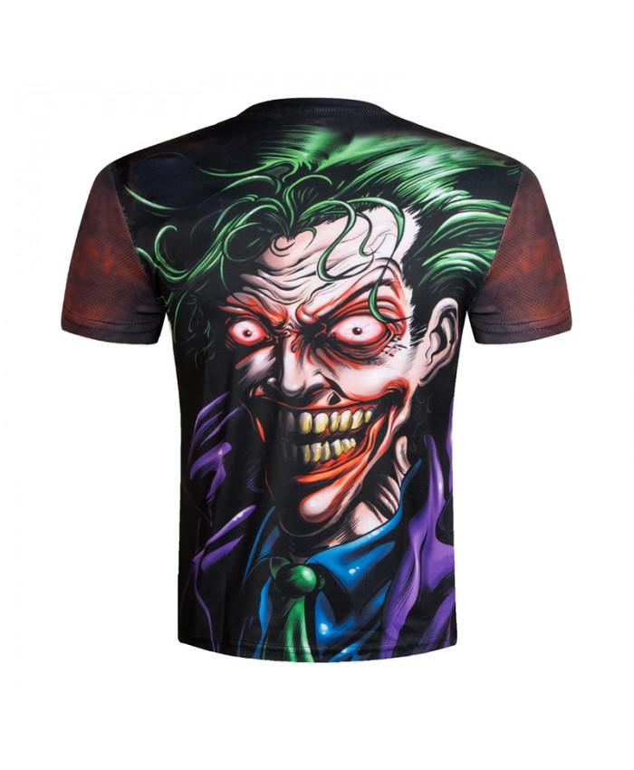 3D t-shirts Men Joker T shirt Printed Funny Badass Top Tees Novelty Funny Streetwear Joker Male 3D Camisetas Movie