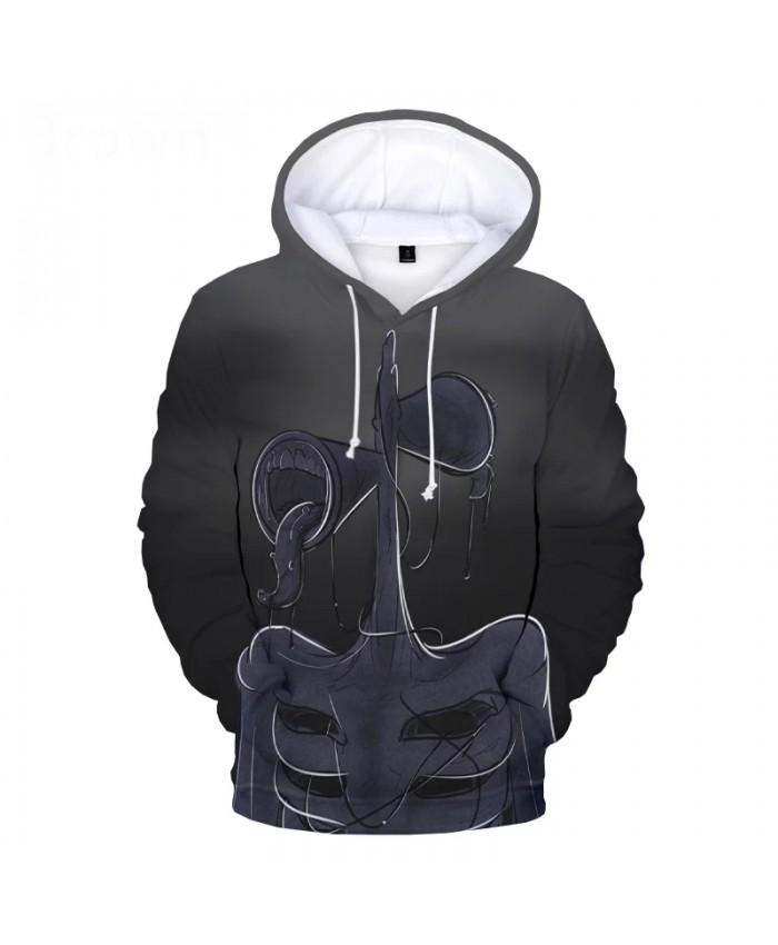 Siren Head 3D Hoodies Men Women Fashion Sweatshirt Hip Hop Harajuku Hooded Clothes Male Pullover Sweatshirts Tops Winter Hoodies